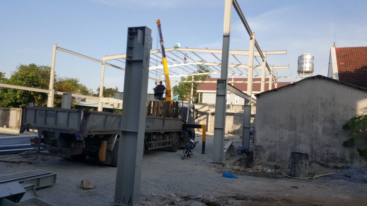 Công trình nhà hàng kết cấu thép đồng nai