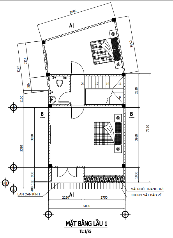 Thiết kế và thi công trọn gói công trình nhà phố anh Hiên quận 12