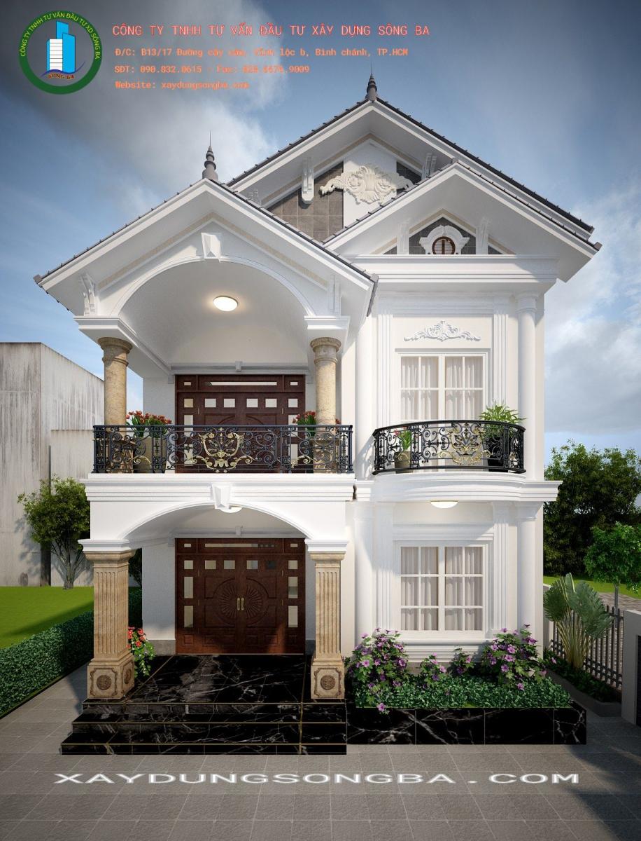 Thiết kế và thi công trọn gói công trình nhà phố quận 12
